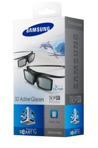 Fernseher Zubehör: Samsung 3D-Active-Shutter-Brillen Starterset
